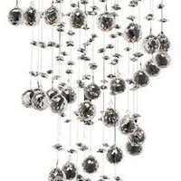 Bernadette - Hanging Fixture (5 Light Contemporary Hanging Crystal Chandelier) - 1721D16