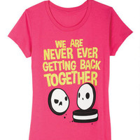 Never Getting Back Together Tee