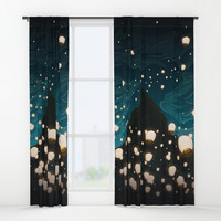 The Mage Window Curtains by noeldelmar