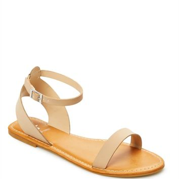 Nude Summer Love Ankle Strap Sandal | Flat Sandals | rue21
