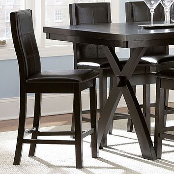 HomeVance 2-pc. Darren Dining Chair Set (Brown)