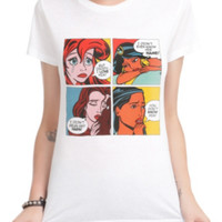 Disney Princess Pop Art Girls T-Shirt