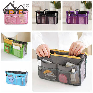Hot 2016 New Women Ladies Desk Makeup Organizer Underwear Drawer Cosmetic Organizer Container Storage Boxes For Travel Bag
