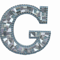 Mosaic Wall Letter - Letter G