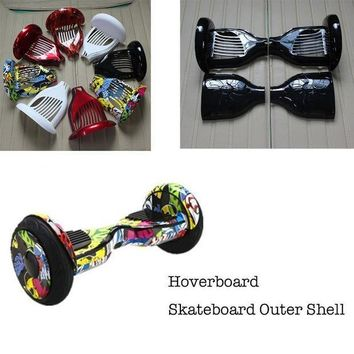 ICIKGQ8 new hoverboard 10 inch two wheels smart self balancing scooter giroskuter electric skateboard outer cover shell replacement sets