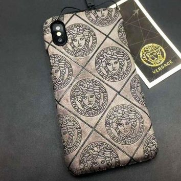 Versace 2018 New Fashion Brand iPhone 6/7/8/X Phone Case