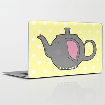 Elephant Teapot Laptop & iPad Skin by KJ53321 | Society6