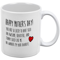 Mother's Day - Happy Mother's Day White All Over Coffee Mug