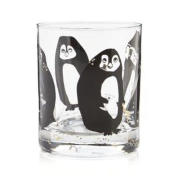 Tipsy Penguin Cocktail Glass