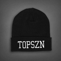 Drake Octobers Very own OVO x TOPSZN Beanie Hat - WeHustle.co.uk | U want it WE got it | WeHustle Enterprises Limited.