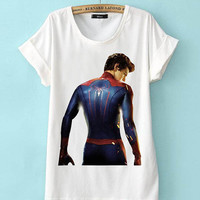 Limited Edition Cheap shirt The Amazing Spider-Man T Shirts Mens and t shirt girl Size Available in PateniElah