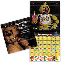 2017 Five Nights at Freddy's Wall Calendar