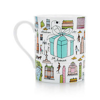 Tiffany & Co. - Tiffany & Co.® Fifth Avenue mug in bone china.