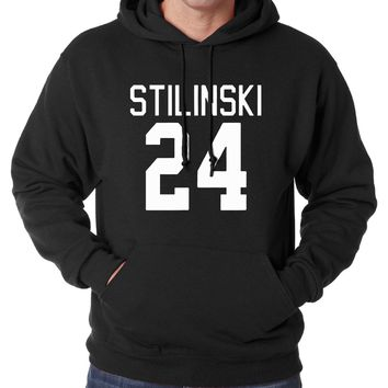 Teen Wolf Stilinski 24 hoodies men 2016 autumn winter new sweatshirts men casual fleece high quality hooded men casual tracksuit