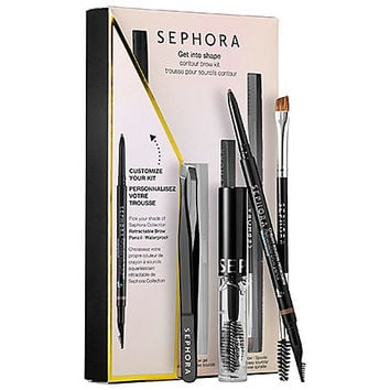 Get Into Shape Contour Custom Brow Kit - SEPHORA COLLECTION | Sephora