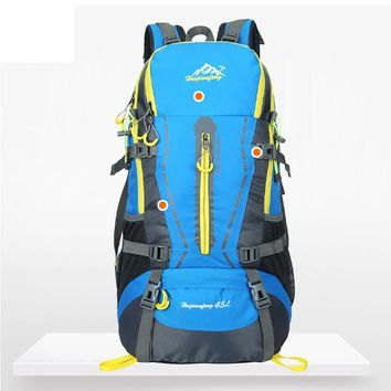 45L Backpack, Waterproof, for Hiking Camping