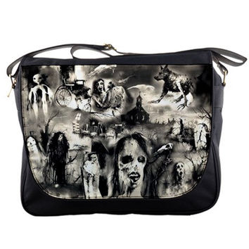 Scary Stories Messenger / Computer Bag (Free U.S. Shipping)