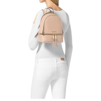 6879570295aaa0 Rhea Extra-Small Leather Backpack | from Michael Kors