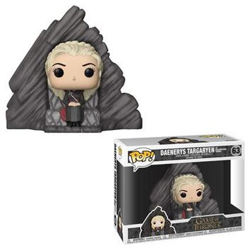 Daenerys Targaryen on Dragonstone Throne Funko Pop! Game of Thrones