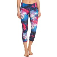 90 Degree by Reflex Print Me Capri Workout Leggings - Women's, Size: