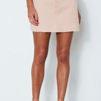 Sweet Heart Mini Skirt Pink