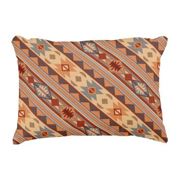 Southwestern Design Tan Accent Pillow