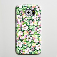Green Pink Floral Ethnic Galaxy S8 Plus Case Galaxy S7 Case Samsung Galaxy Note 5  Phone Case s6-073