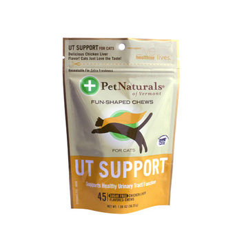 Pet Naturals of Vermont UT Support for Cats Chicken Liver - 45 Soft Chews