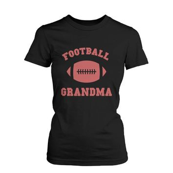 Football Grandma Graphic Shirts Cute Christmas Gifts Ideas for Grandmother