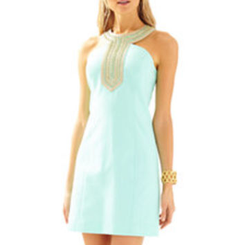 Adelina Embellished Shift Dress - Lilly Pulitzer