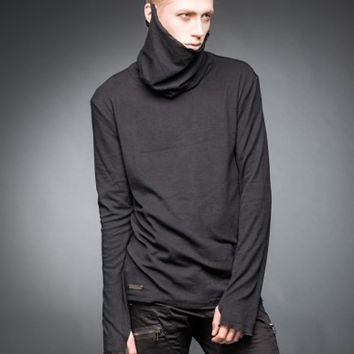 Turtleneck sweater with thumbholes | SweatShirts | Longsleeves | Men | Queen Of Darkness