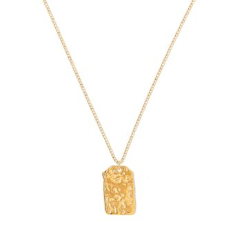 Tess and Tricia Simplicity Penta Relic Charm Necklace