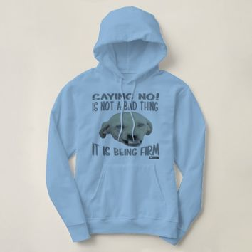 Firm Quote by Kat Worth Hoodie