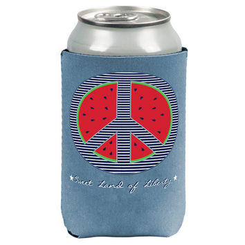 Sweet Land of Liberty - Watermelon Reversible - Drink Cooler
