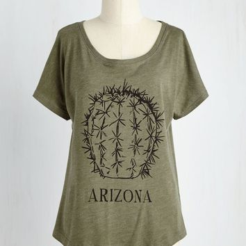 ARIZONA CACTUS Ladies Relaxed Flowy Dolman Top T-Shirt NEW XS-2XL