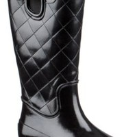 Sperry Top-Sider Pelican III Rain Boot BlackQuilted, Size 5M  Women's Shoes