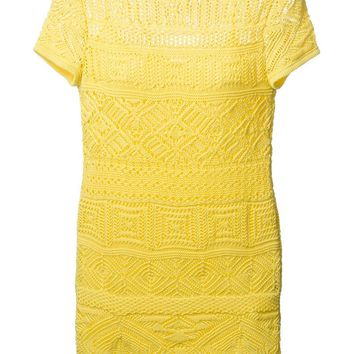 Emilio Pucci lace fitted dress