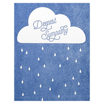 Deepest Sympathy Greeting Card