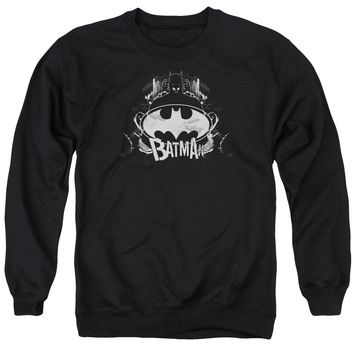 Batman - Grim &Amp; Gritty Adult Crewneck Sweatshirt