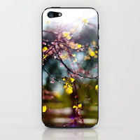 Sun and FLowers iPhone & iPod Skin by Trinity Bennett