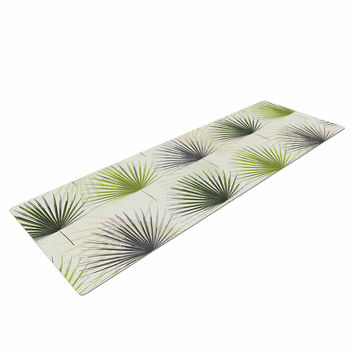 "Julia Grifol ""My Holidays Time"" Green Yoga Mat"