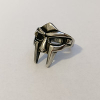 MF DOOM Stainless Steel Mask Ring