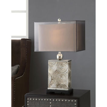 Crestview Collection Crestview Cvaup718 Mancini Table Lamp