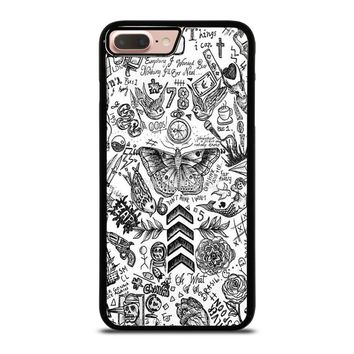 ONE DIRECTION TATTOOS iPhone 8 Plus Case