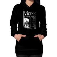 Viking World Tour Hoodie (on woman)