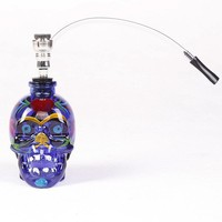 The new glass colored skulls pipe,Lighters & Smoking Accessories, Pipes & AccessoriesCraft gift,