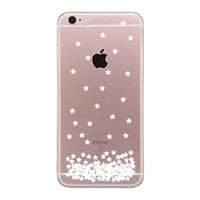 Stars Pattern Clear Phone Case