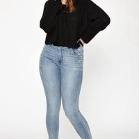 PacSun Cher Blue Push Up Jeggings at PacSun.com