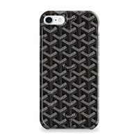 GOYARD PARIS BLACK PATTERN iPhone 7 | iPhone 7 Plus Case