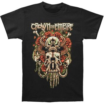 Crown The Empire Men's  Sacrifice Slim Fit T-shirt Black